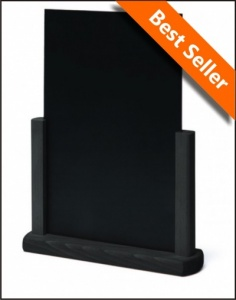 Black Tabletop Chalkboards