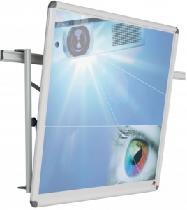 BusyRail Deluxe - Wall Mounted Display Rail System