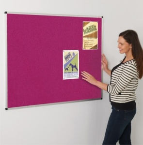 ColourPlus Aluminium Framed Notice Boards