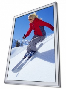 Snap Frame - Silver / Silver - 37mm Twin Profile