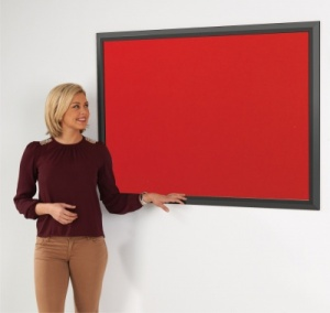 Eco-Friendly Premier Black Framed Notice Board