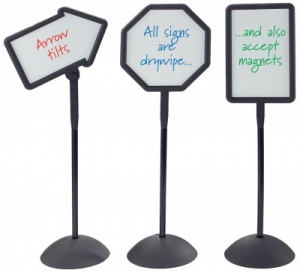 Freestanding Whiteboard Signs