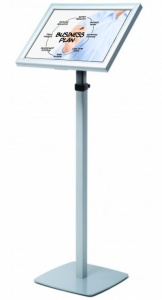 LED Back Lit Telescopic Menu Stand
