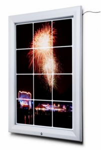 Lockable LED Outdoor Light Box