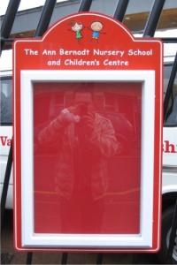 Mini Superior External School Notice Board