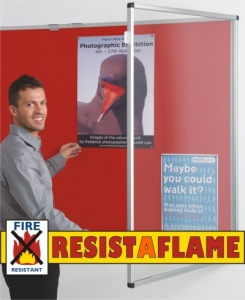 Resist-A-Flame Tamperproof Noticeboards