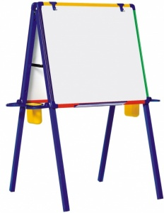 Schoolmate Easel - Multi Coloured Early Years Easel