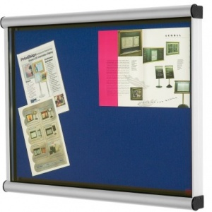 The Scroll Silver Framed Wall Mounted Show Case