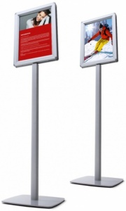 Freestanding Double Sided Sign Post Stand