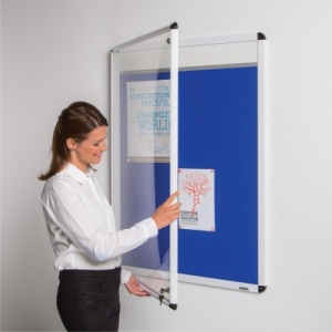 Themeboard - Shield Tamperproof Notice Board