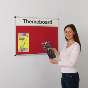 Themeboard Aluminium Framed Notice Boards