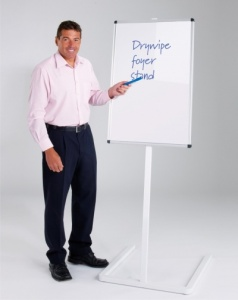 WriteOn - Drywipe Foyer Whiteboard