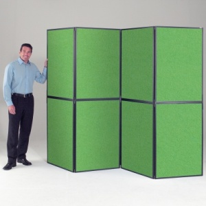XL BusyFold Light - 8 Panel Folding Display System