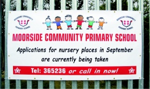 Full Colour Printed PVC School Banners