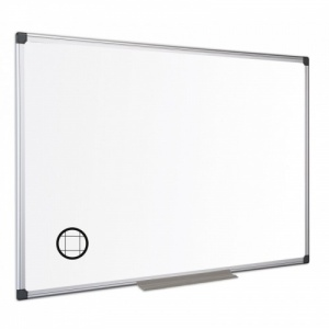 The Maya - Non Magnetic Aluminium Framed Gridded Whiteboard