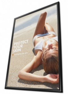 Snap Frame - Black - 25mm Profile