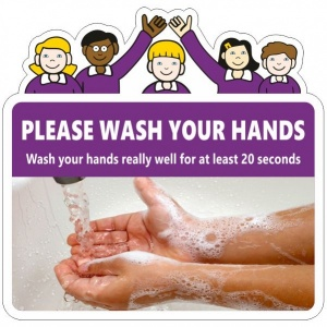 Handwashing Signs for Schools