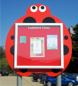 Squiggle - Child Friendly School Notice Boards