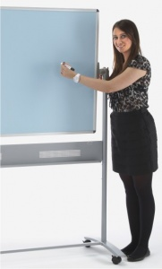 Colourwipe - Non Magnetic Pastel Shaded Mobile Drywipe Board