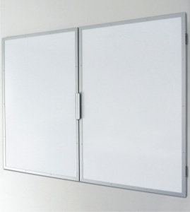 Confidential Winged Magnetic Drywipe Whiteboard