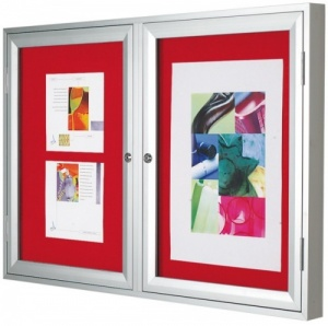 Varicase Cyclone Double Door Notice Board