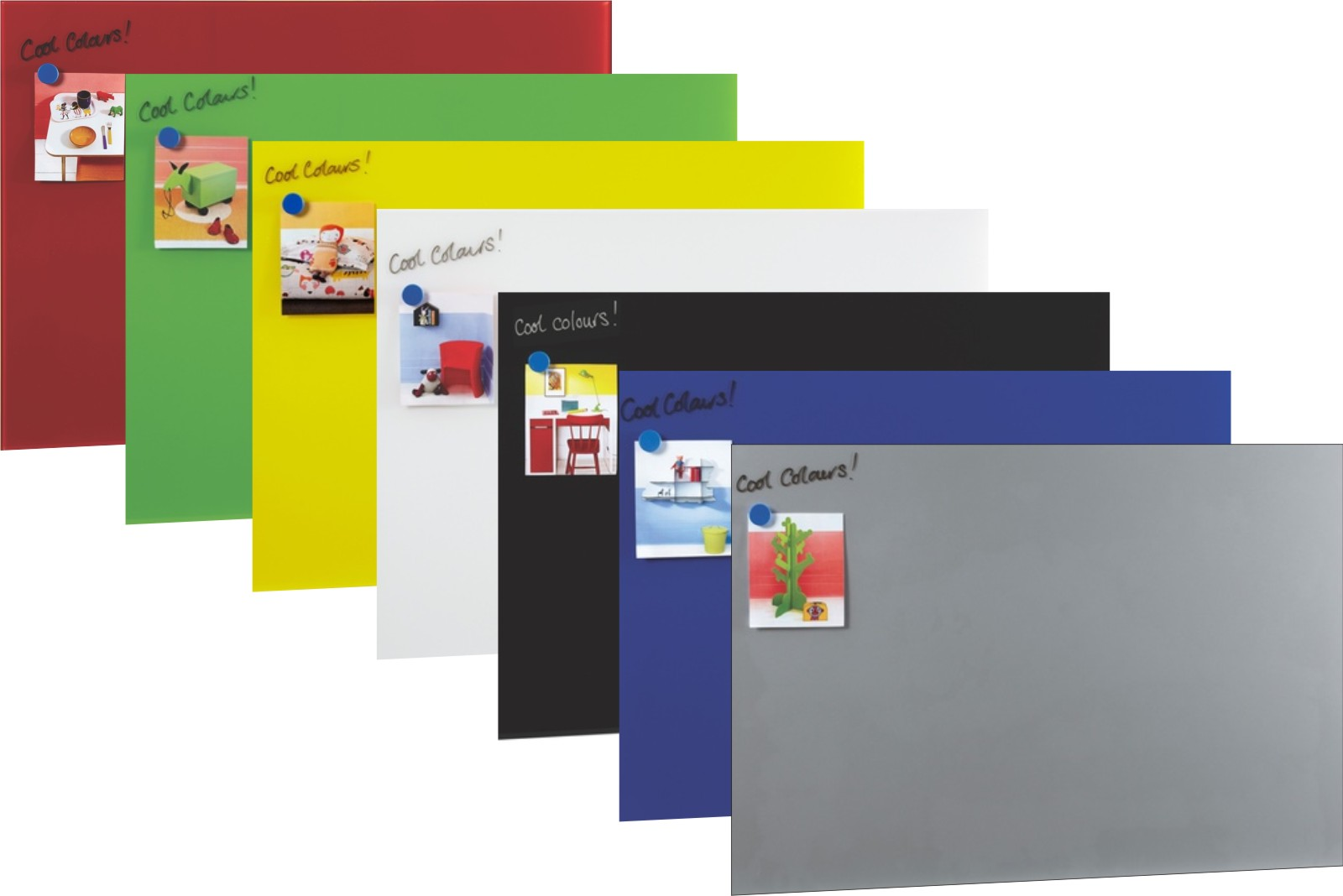 Colourview Glass Writing Boards