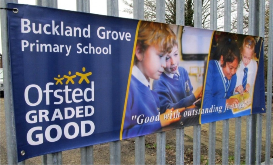 Ofsted Banners For Schools Signs 4 Schools