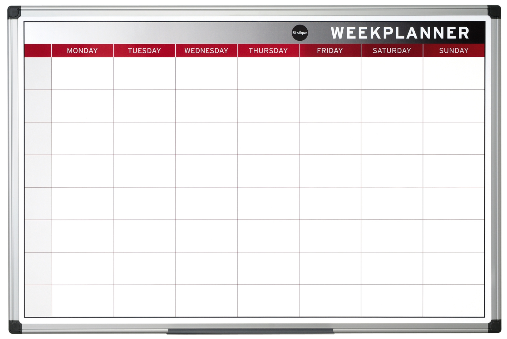colour weekly magnetic planning board