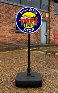 Lollipop - Freestanding Signs