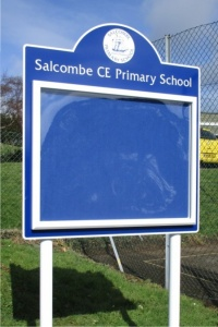 Midi Superior External School Notice Board