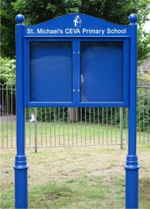 The Premium Range External School Notice Boards