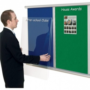The Mini Scroll Multi-Bank Anti-Tamper Notice Board
