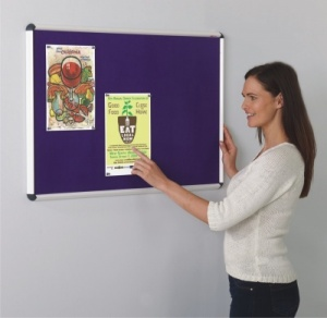 Shield ColourPlus Aluminium Framed Notice Boards