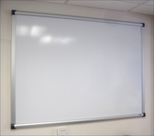 The Vision - Non Magnetic Drywipe Whiteboard