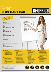Bi-Office A1 Size Plain Flipchart Pads
