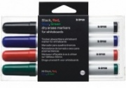 Bi-Office Mixed Colour Drywipe Marker Pen Sets