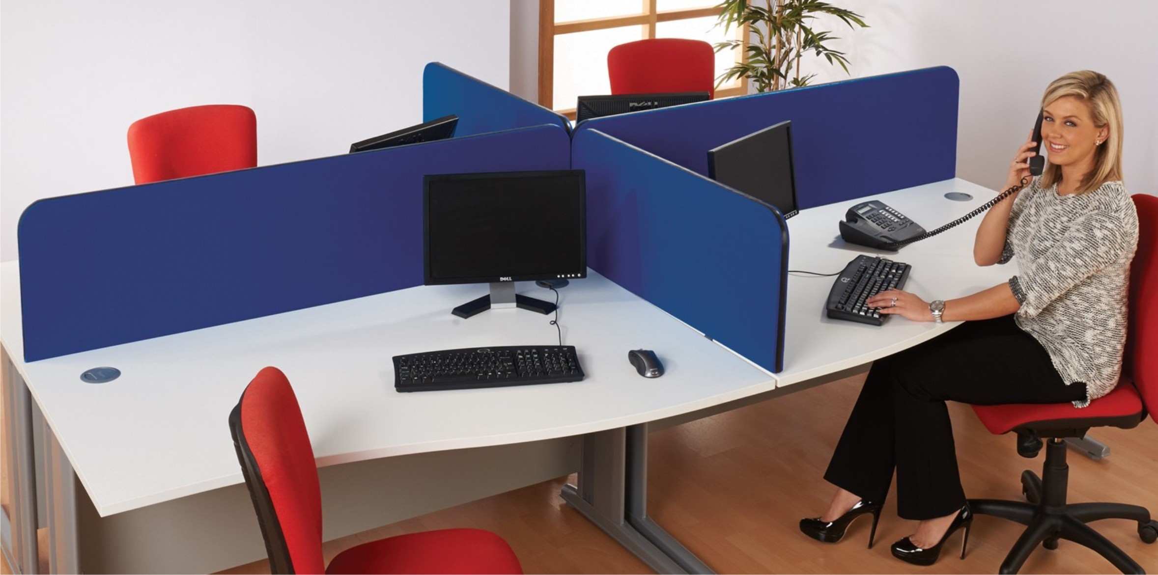 BusyScreen Curve Desk Screens