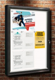 The Classic Wall Mounted Magnetic Notice Board