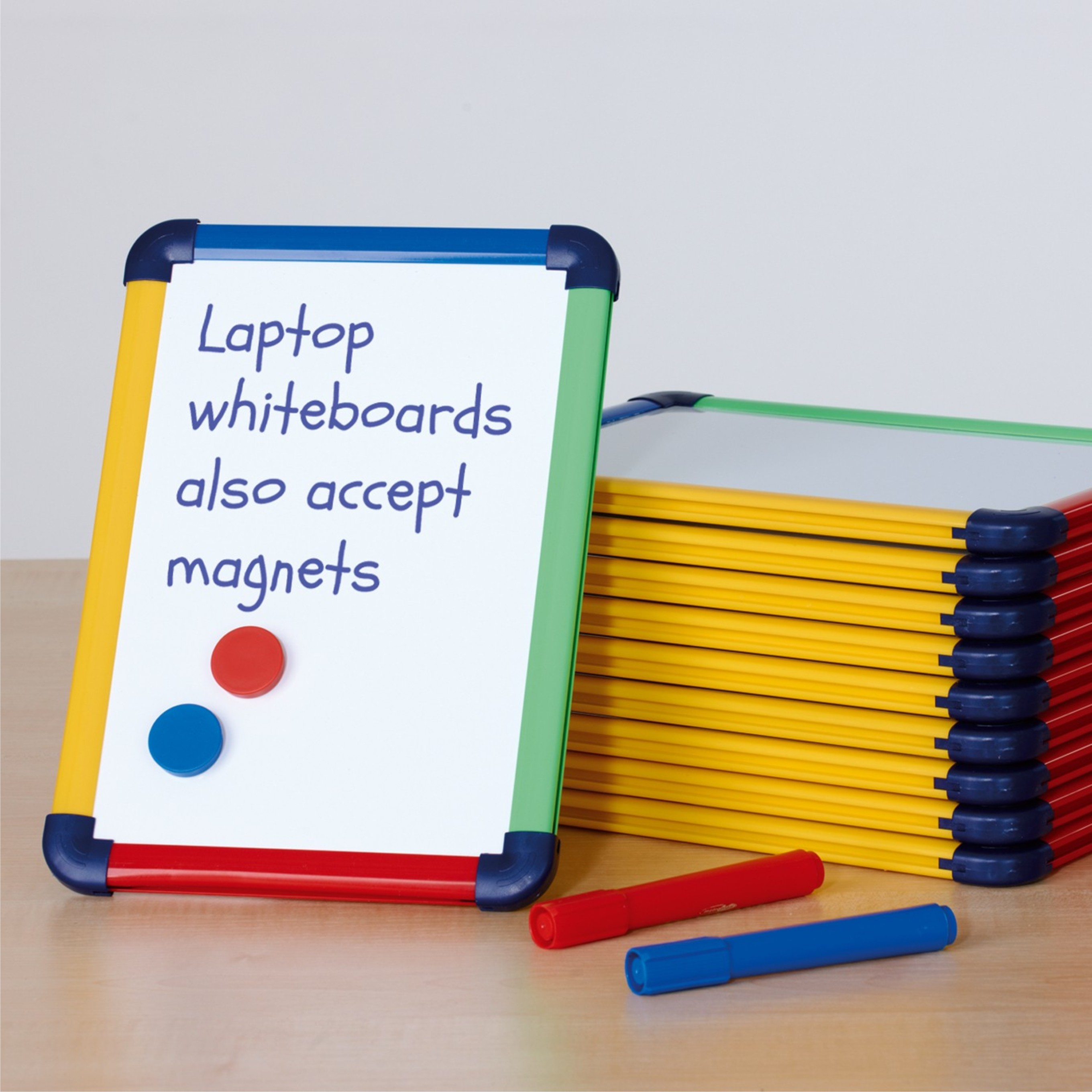 schoolmate multi coloured laptop boards