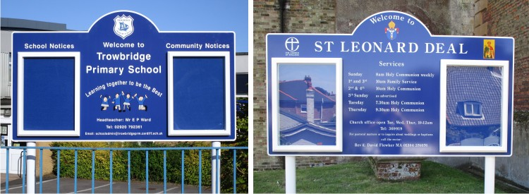 External School Notice Boards