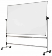 EarthIT Non Magnetic Mobile Drywipe Whiteboard