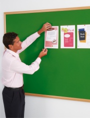Eco-Friendly Felt Noticeboard