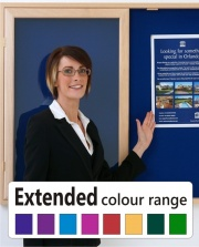 Eco Friendly Wood Frame Showcase Extended Colour Range