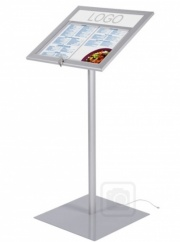 Freestanding Lockable LED Menu Case