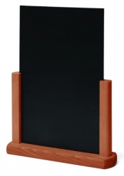Hardwood Teak Finish Table Top Chalkboards
