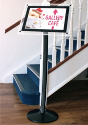 Hi-Light LED Menu Stand