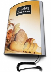 Curved Front Poster Light Box