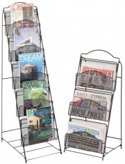 Mesh Floor Racks - Literature Holders