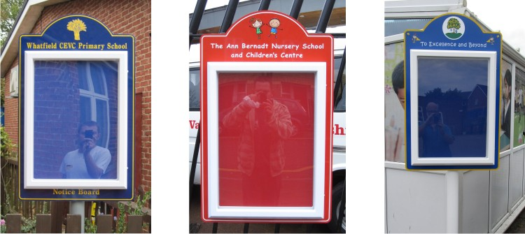 Mini Superior external notice boards