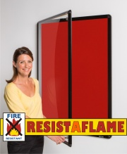 Resist-A-Flame Shield Tamperproof Noticeboards